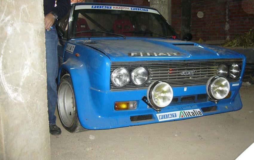 Fiat 131 Abarth Rally Volumetric Classic Road