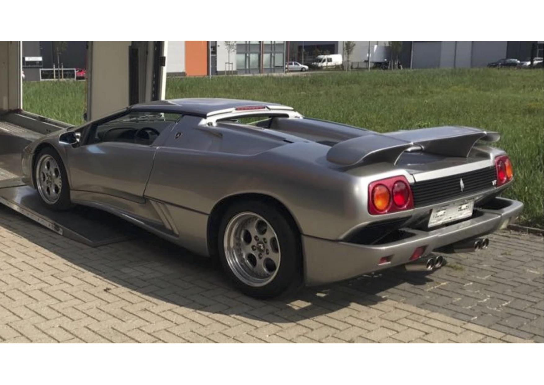 1997 Lamborghini Diablo Vt Roadster Classic Road